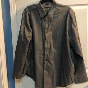 Men's DKNY dress button down shirt